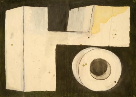 4- Yo, 2003- Guache sobre papel